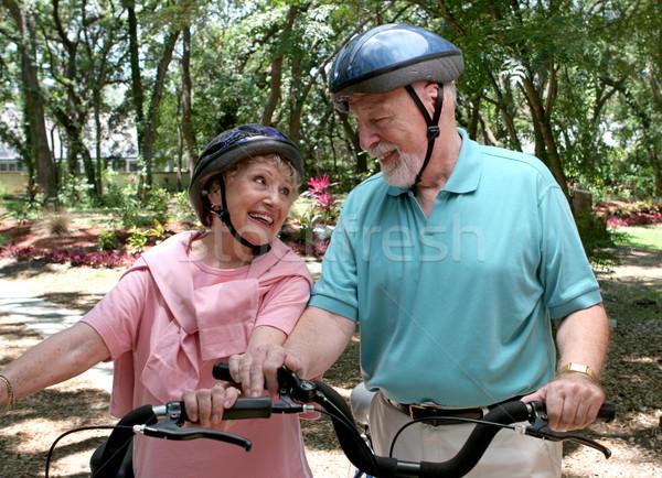 Seniors Fun & Fitness Stock photo © lisafx