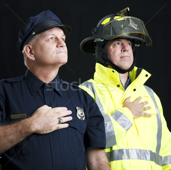 Heroic First Responders Stock photo © lisafx