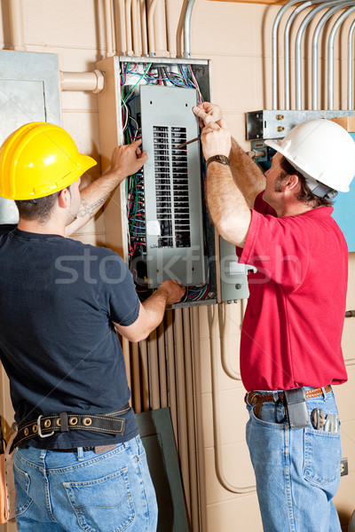 Electrical Breaker Panel Repair Stock photo © lisafx