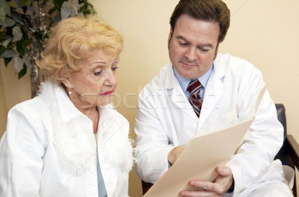Medically Underinsured Stock photo © lisafx