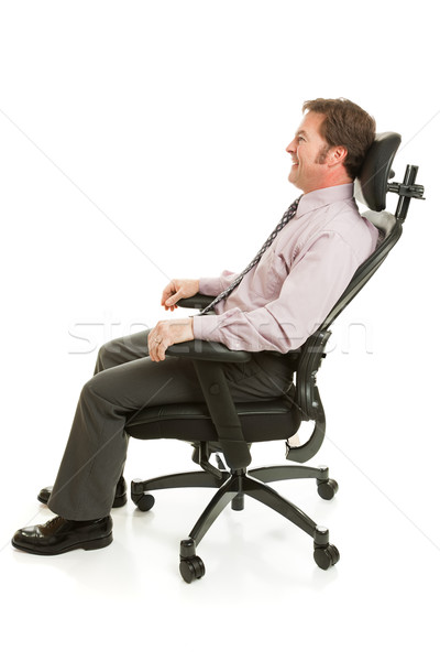 Relaxing in Ergonomic Chair Stock photo © lisafx