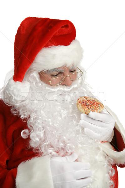 Santa Cheats on Diet Stock photo © lisafx