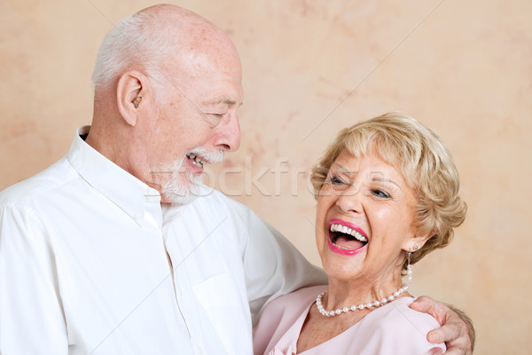 Seniors Laughing Together Stock photo © lisafx