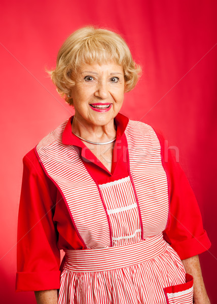 Classic Grandmother or Homemaker Stock photo © lisafx