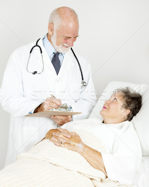 Doctor Makes His Rounds Stock photo © lisafx