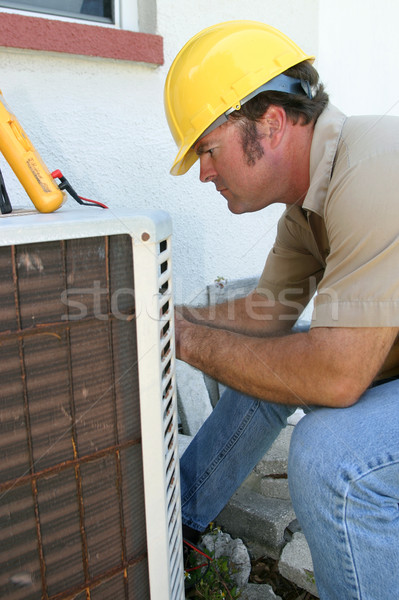 Air Conditioning Repairman 1 Stock photo © lisafx