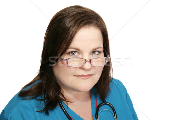 Beautiful Nurse Stock photo © lisafx
