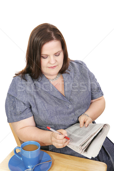 Businesswoman - Job Search Stock photo © lisafx