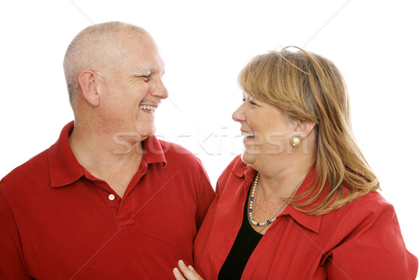 Couple Laughing Together Stock photo © lisafx