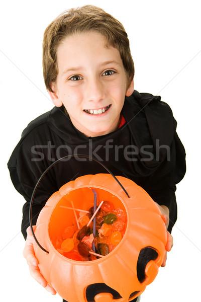 Cutest Halloween Goblin Stock photo © lisafx