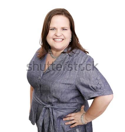 Plus Sized Self-Esteem Stock photo © lisafx