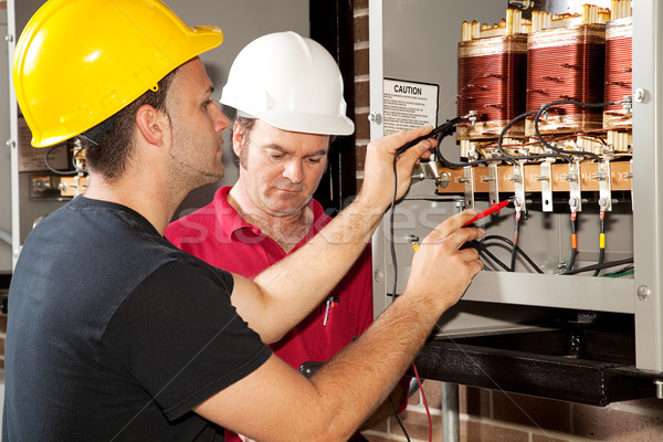 Vocational Training - Electrician Stock photo © lisafx