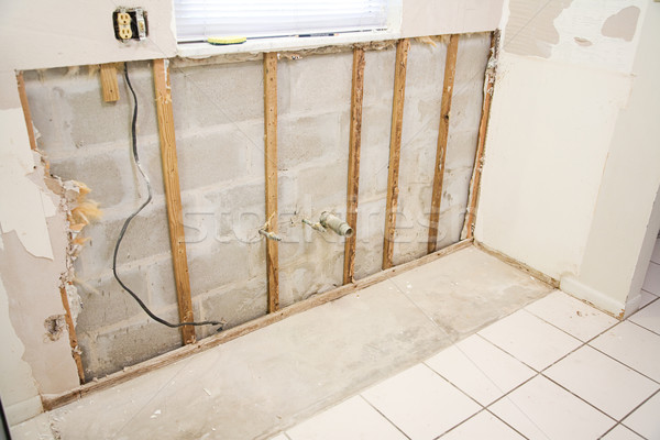 Water Damage in Kitchen Stock photo © lisafx