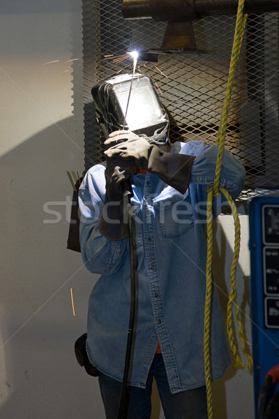 Welding Overhead Stock photo © lisafx