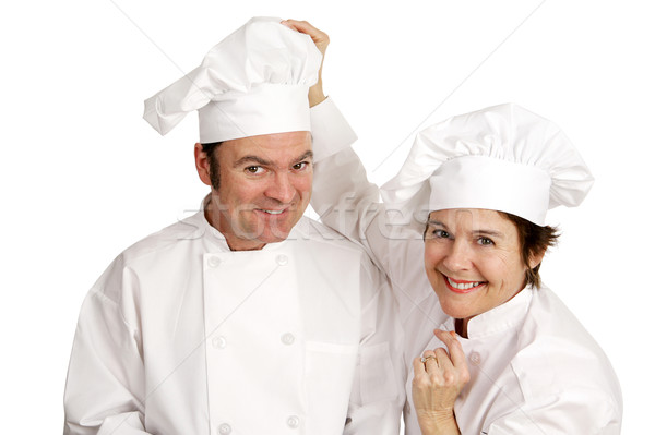 Chef Series - Friendship Stock photo © lisafx