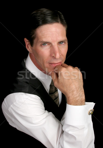 Executive Portrait - serious Stock photo © lisafx
