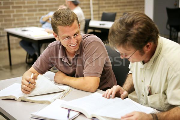 Adult Ed - Studying Stock photo © lisafx