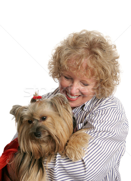 Affectionate Pet Owner Stock photo © lisafx