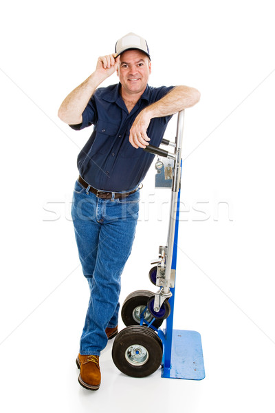 Delivery Man or Mover - Courtesy Stock photo © lisafx