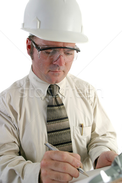 Safety Engineer Closeup Stock photo © lisafx