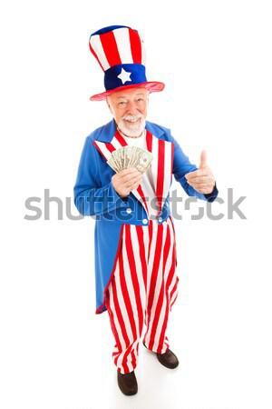 Uncle Sam - Economic Recovery Stock photo © lisafx