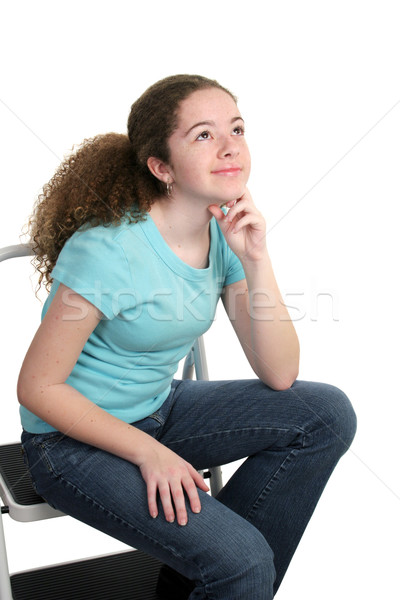 Contemplative Teen Stock photo © lisafx