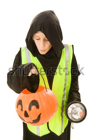 Halloween Boy Hungry Stock photo © lisafx