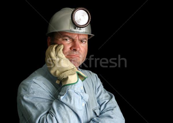 Disgruntled Mine Worker Stock photo © lisafx