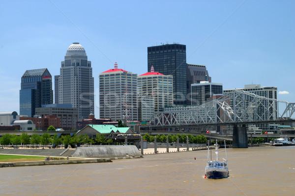 Louisville Kentucky Skyline Stock photo © lisafx