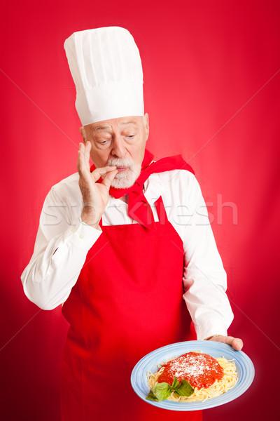 Italian Chef - Delicious Stock photo © lisafx