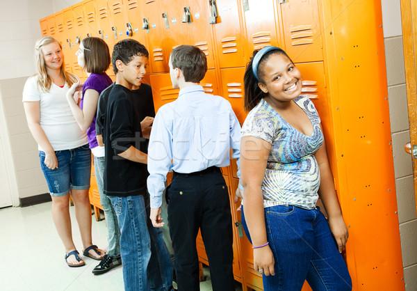 Teens Between Classes Stock photo © lisafx