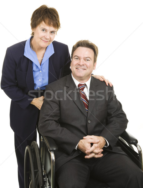 Business Partners - Disability Stock photo © lisafx