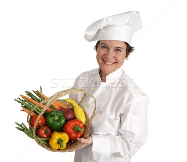 Chef Series - Healthy & Happy Stock photo © lisafx