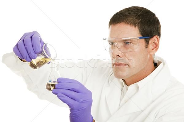 Chemist at Work Stock photo © lisafx