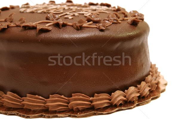 Chocolate Fudge Cake 3 Stock photo © lisafx