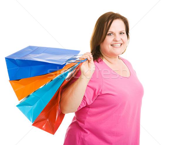 Happy Shopper Stock photo © lisafx