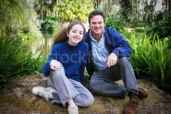 Fathers Day Together in Nature Stock photo © lisafx