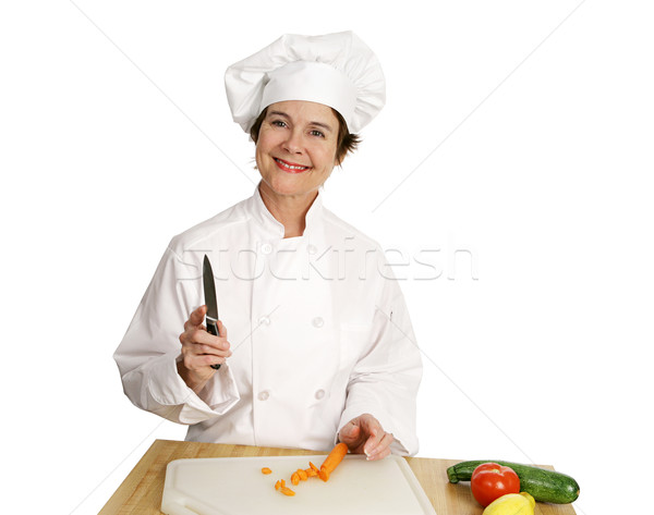 Chef Series - Smiling Stock photo © lisafx