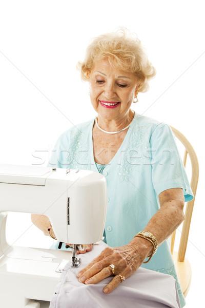 Retirement Hobby - Sewing Stock photo © lisafx