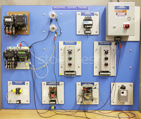 Adult Ed - Industrial Control Trainer Stock photo © lisafx