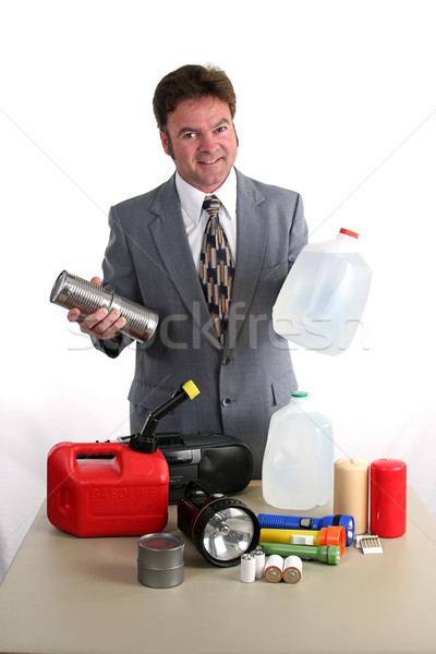 Hurricane Kit - Food & Water Stock photo © lisafx