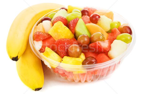 Bowl of Tropical Fruit Stock photo © lisafx