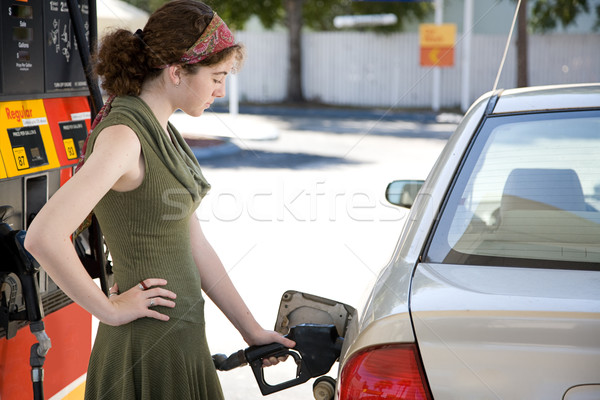 Pumping Gas Stock photo © lisafx