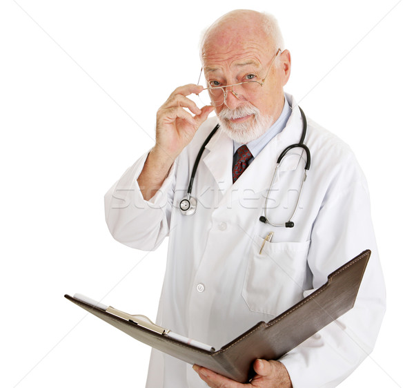 Doctor - Serious About Your Health Stock photo © lisafx