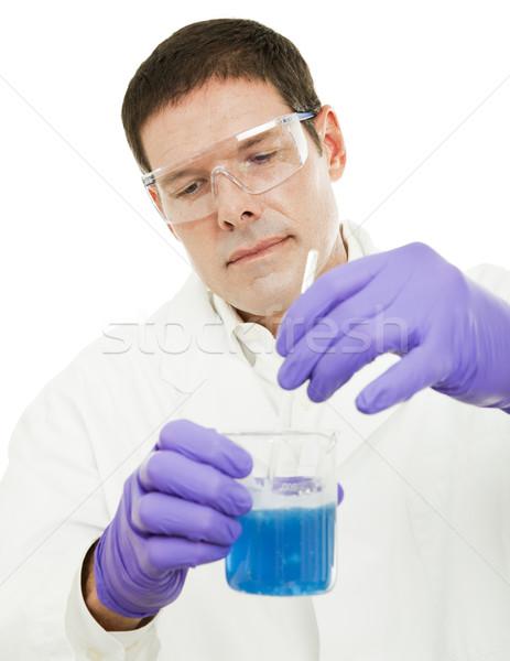 Scientist Stirs Compound Stock photo © lisafx