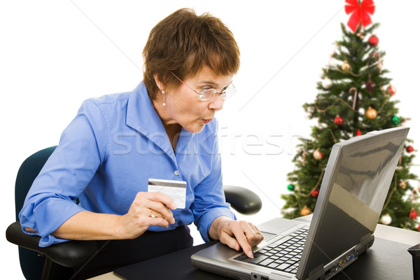 Online Christmas Shopping Stock photo © lisafx