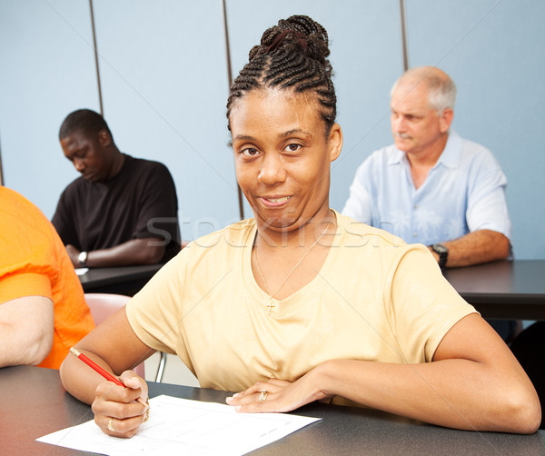 Adult Ed Student - Special Education Stock photo © lisafx