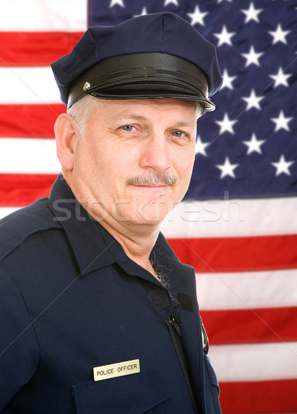 American Policeman Stock photo © lisafx