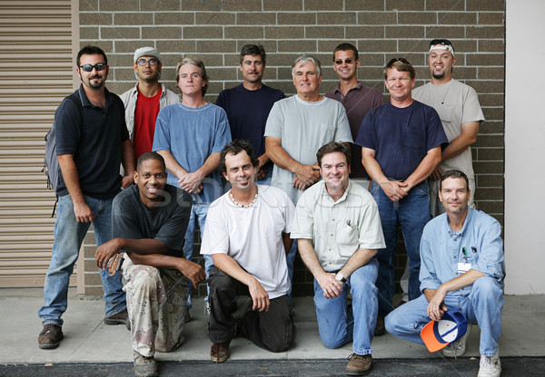 Blue Collar Guys Stock photo © lisafx