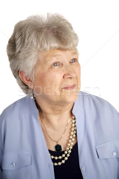 Contented Senior Lady Stock photo © lisafx